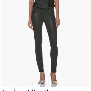 Paige faux leather coated pant!